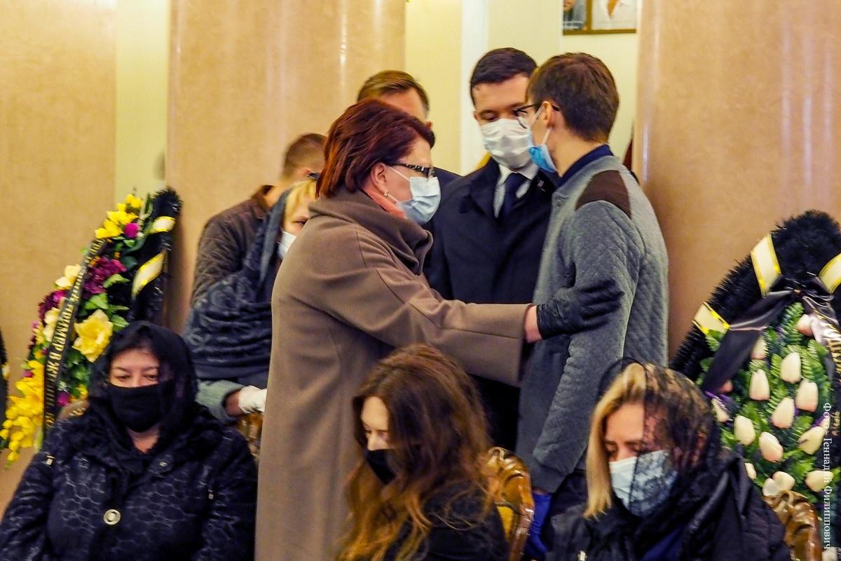 Город простился с заслуженным работником культуры России Михаилом Андреевым