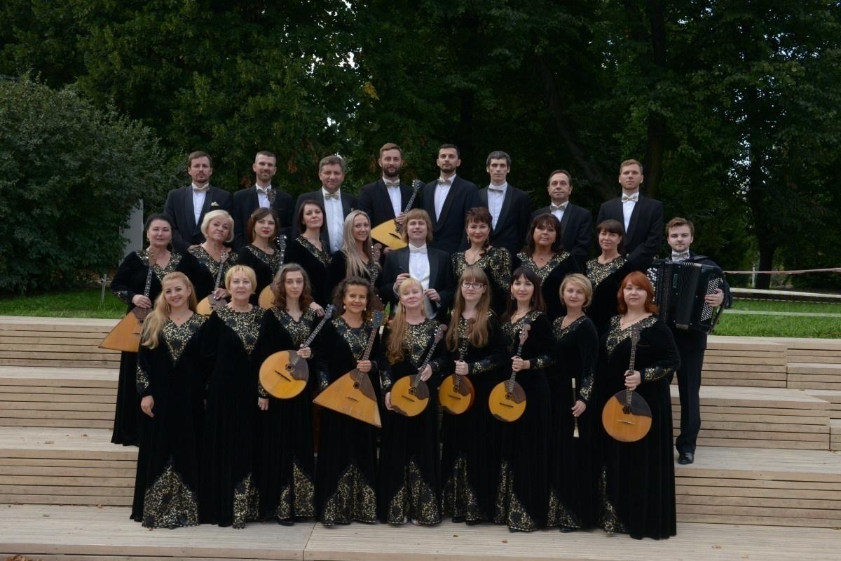 Концерт Калининградского оркестра русских народных инструментов