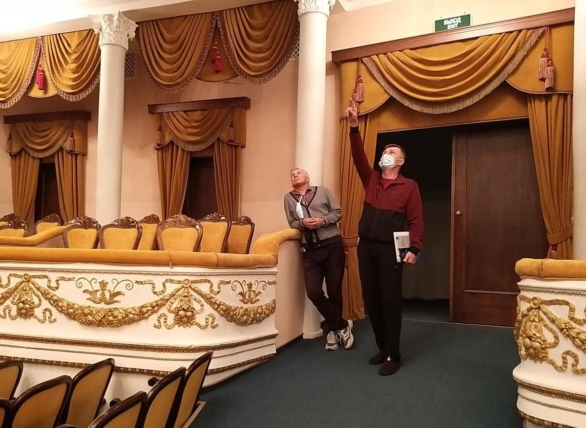 Драмтеатр завершил подготовку к работе в новых условиях